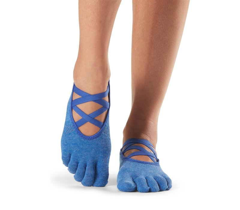 Toesox Yoga Sokken Elle Dichte Tenen - Azure