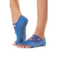 Toesox Yoga Sokken Elle Open Tenen - Azure