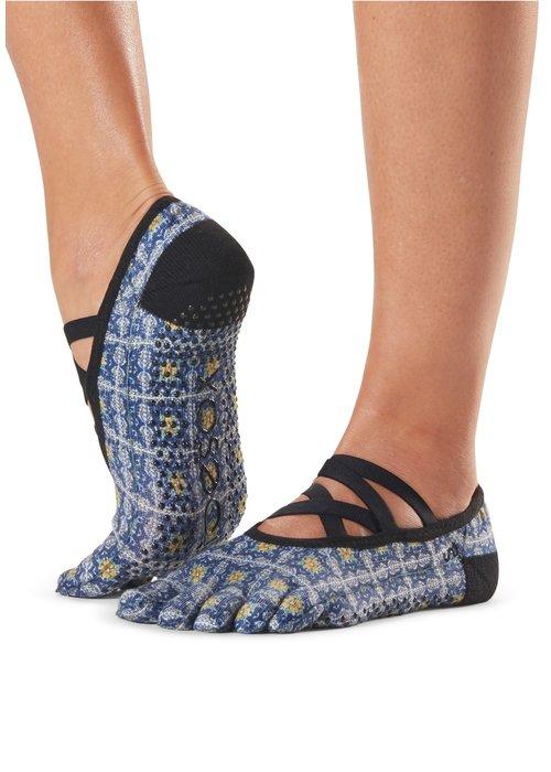 Toesox Toesox Yoga Sokken Elle Dichte Tenen - Villa