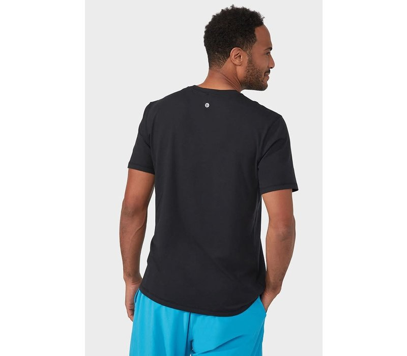 Manduka Performance Short Sleeve Tee - Black