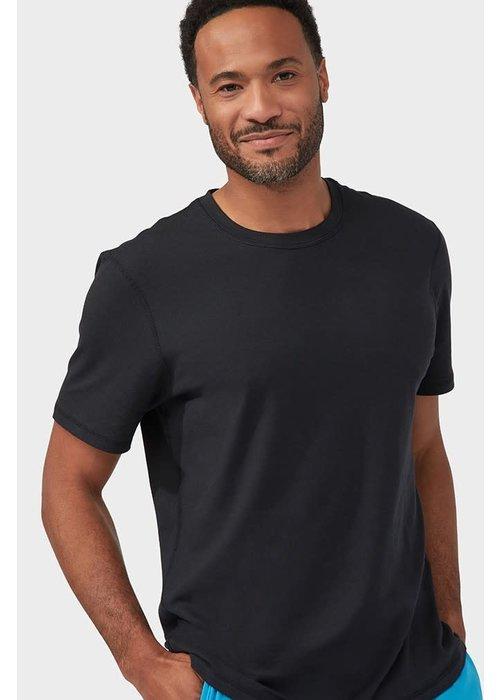 Manduka Manduka Performance Short Sleeve T-Shirt - Schwarz