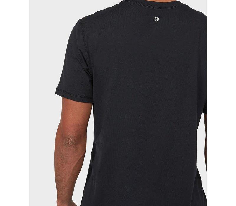 Manduka Performance Short Sleeve T-Shirt - Schwarz
