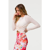 Onzie Twirl Top - Blush