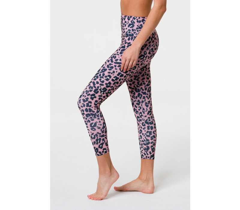 Onzie High Basic Midi - Rose Leopard
