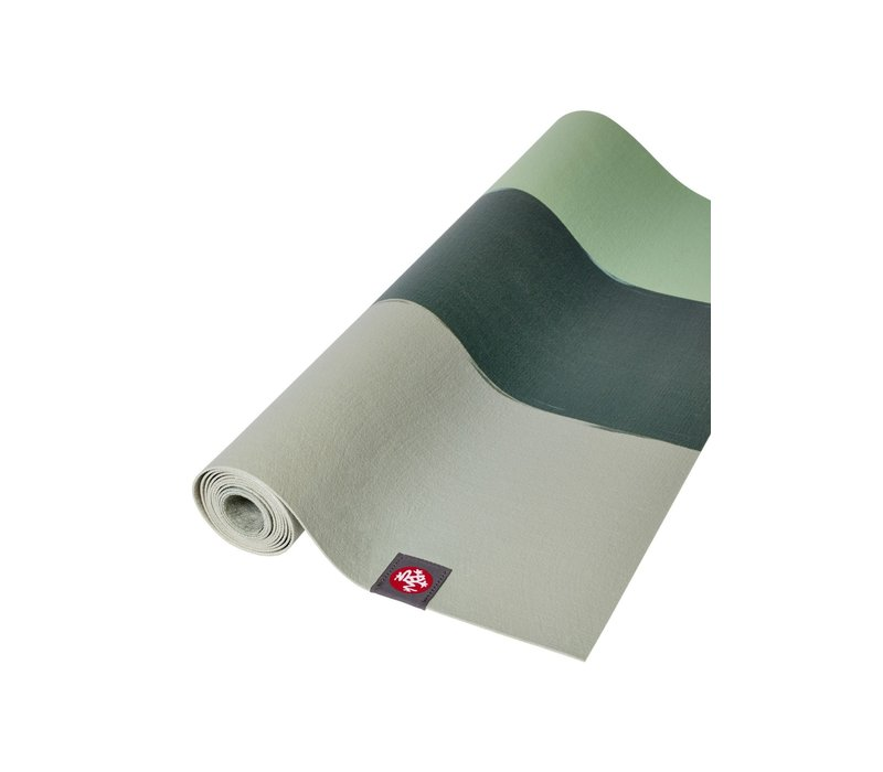 Manduka eKO Superlite Yoga Mat 180cm 61cm 1.5mm - Green Ash Stripe