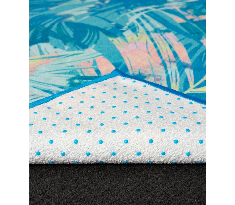Yogitoes Yoga Towel 172cm 61cm - Tropics Blue