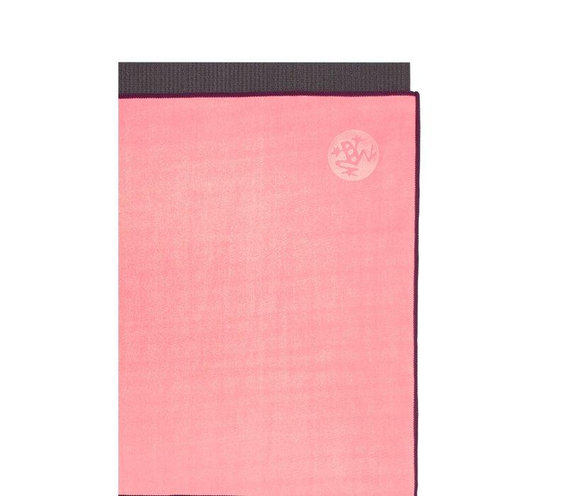 Manduka eQua Towel 182cm 67cm - Desert Flower