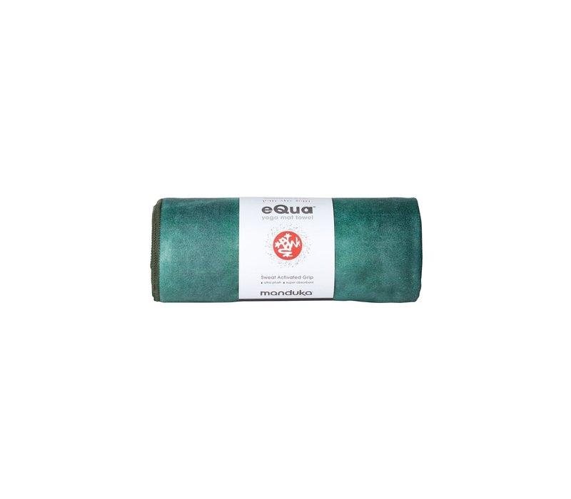 Manduka eQua Towel 40cm 67cm - Camo Green