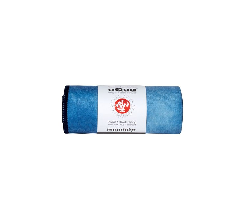 Manduka eQua Handdoek 40cm 67cm - Camo Tie Dye Blues