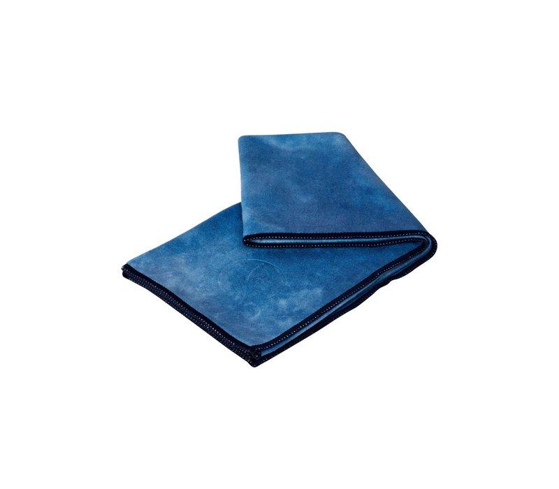 Manduka eQua Towel 40cm 67cm - Camo Tie Dye Blues