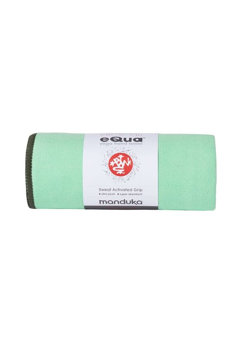 Manduka Manduka eQua Towel 182cm 67cm - Green Ash