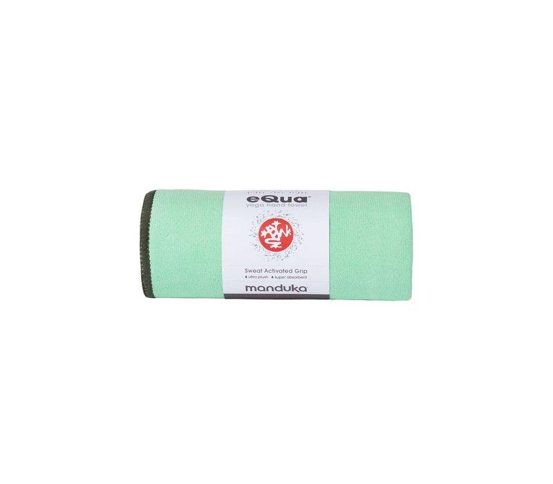 Manduka eQua Handdoek 182cm 67cm - Green Ash