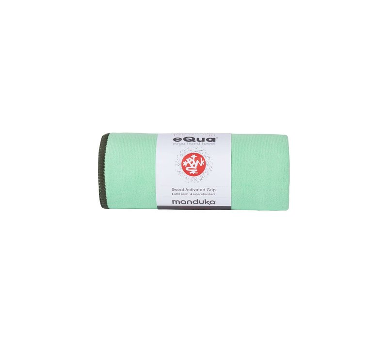Manduka eQua Handtuch 182cm 67cm - Green Ash