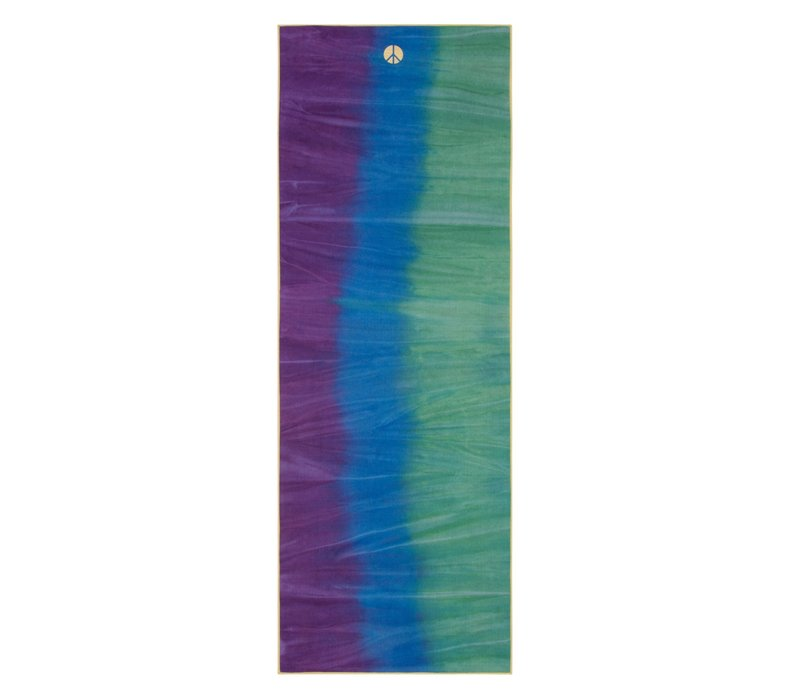 Yogitoes Yoga Handtuch 172cm 61cm - Peacock