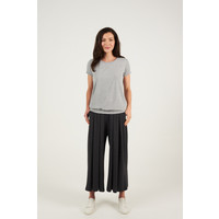 Asquith Smooth You Tee - Pale Grey Marl