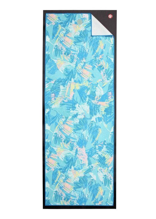 Yogitoes Yogitoes Yoga Towel 172cm 61cm - Tropics Blue
