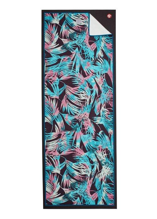 Yogitoes Yogitoes Yoga Handdoek 172cm 61cm - Tropics Black