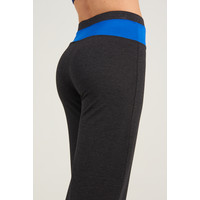 Asquith Lotus Cuff Pants - Dark Grey Marl
