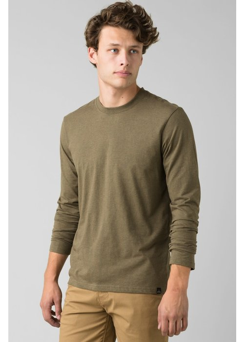 PrAna PrAna Longsleeve Crew - Slate Green Heather