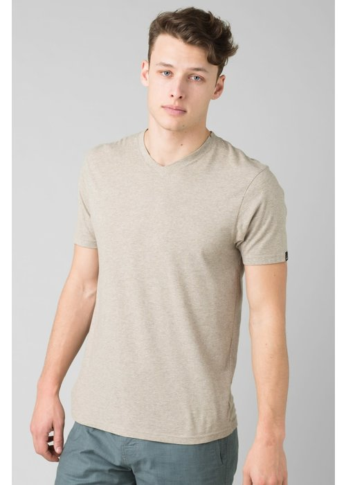 PrAna PrAna V-Neck - Dark Khaki Heather