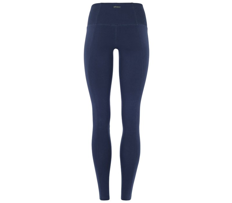 Mandala Slim Yoga Pants - Marine