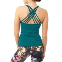 Mandala Infinity Top - Tropical Green