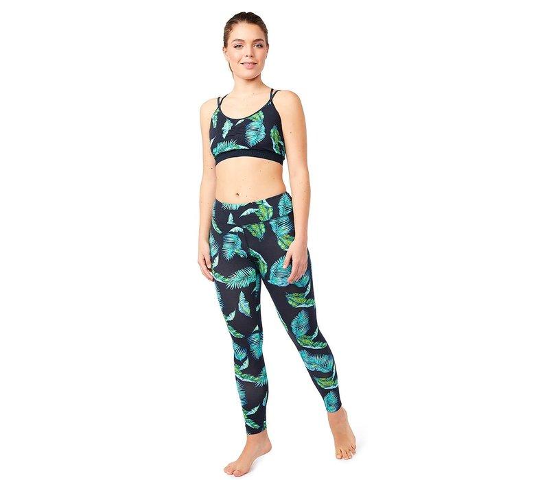 Mandala Join The Class Legging - Jungle Leaf