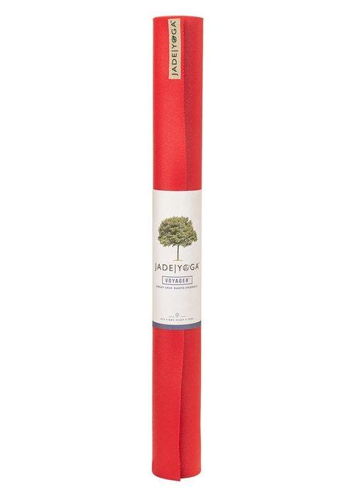 Jade Jade Voyager Yoga Mat 173cm 60cm 1.5mm - Fire Engine Red