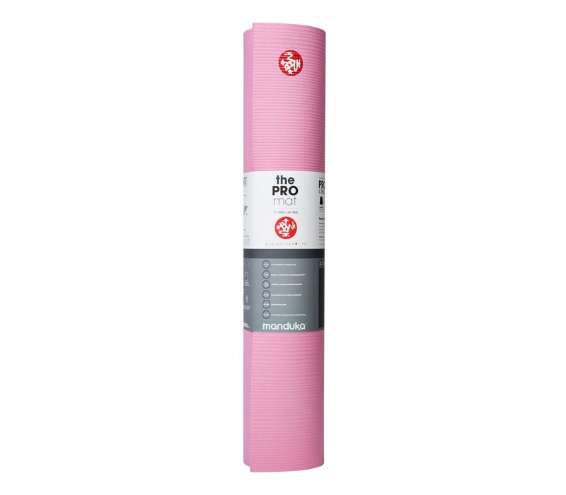 Manduka Pro Yogamatte 180cm 66cm 6mm - Fuchsia