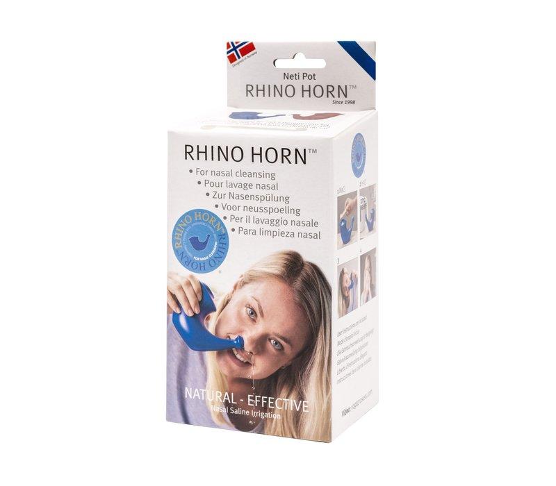 Neti Pot Rhino Horn - Blauw