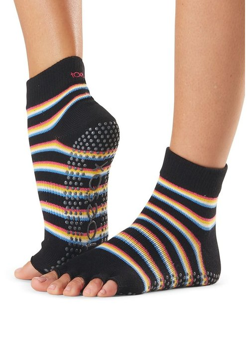 Toesox Toesox Ankle Half Toe - Mytique