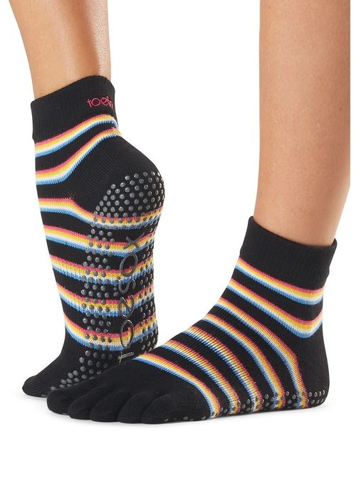 Toesox Toesox Ankle Full Toe - Mystique