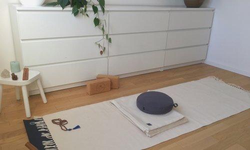 Thuis een yoga ruimte maken