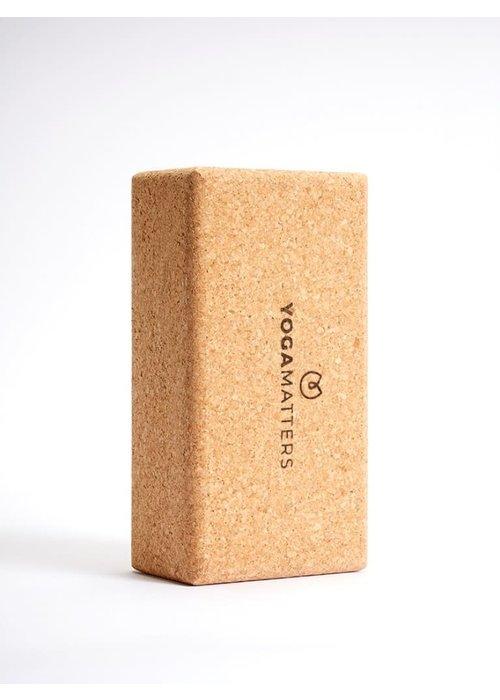 Yogamatters Yoga Brick Cork