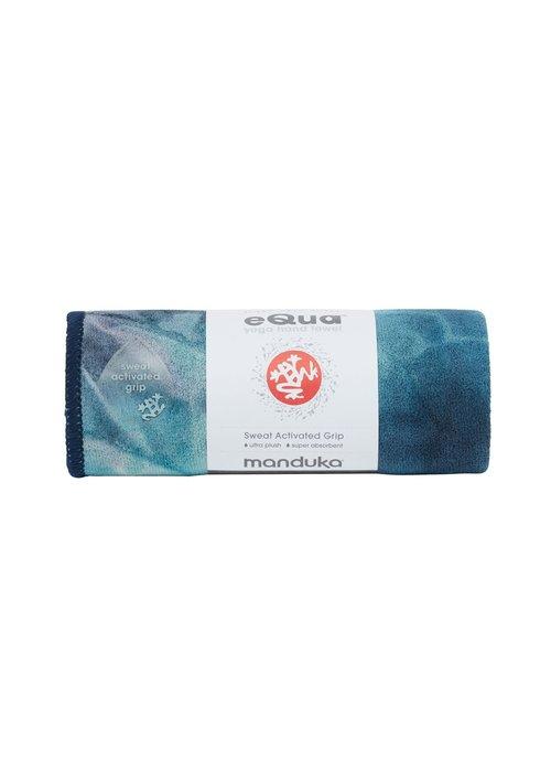 Manduka Manduka eQua Handdoek 40cm 67cm - Storm Hand Dye