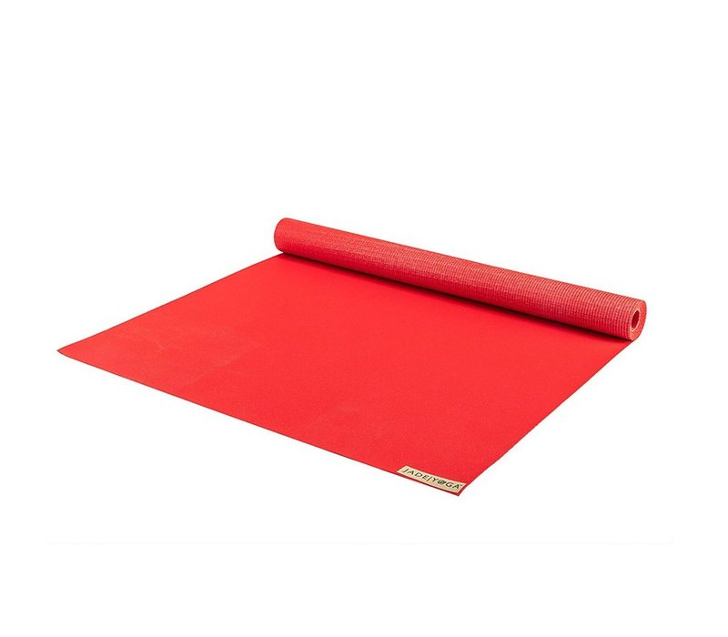 Jade Voyager Yogamatte 173cm 60cm 1.5mm - Fire Engine Red