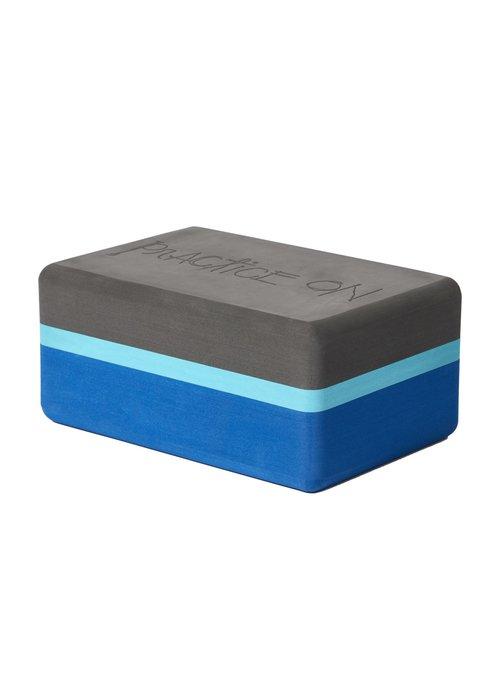 Manduka Manduka Recycled Foam Yoga Blok - Pacific Blue