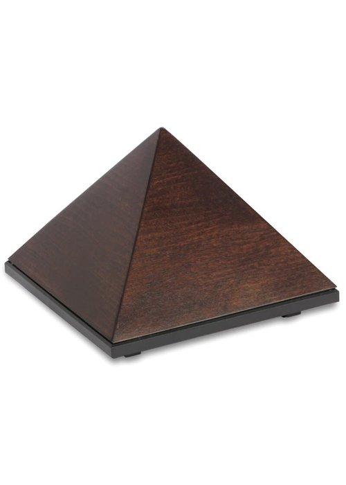 Dharma Music Pyramid Meditationstimer - Buchenholz Chocolate