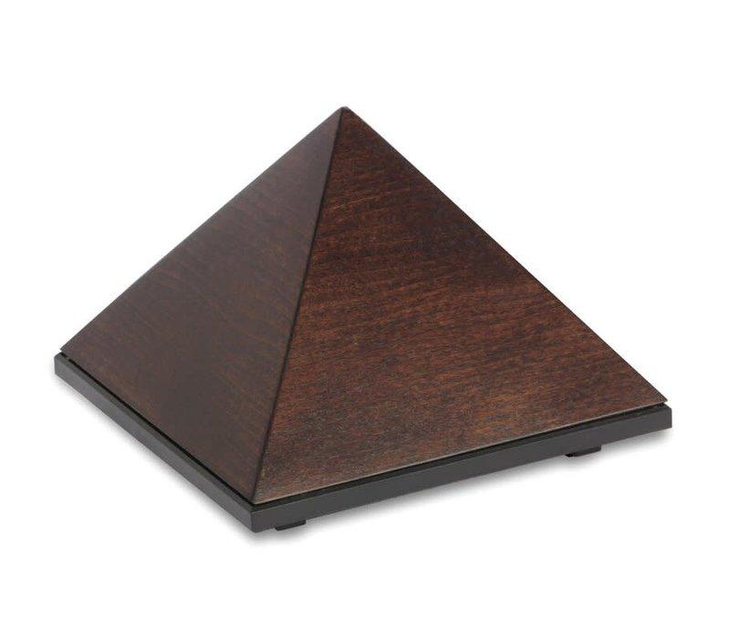 Piramide Meditatietimer - Beukenhout Chocolate