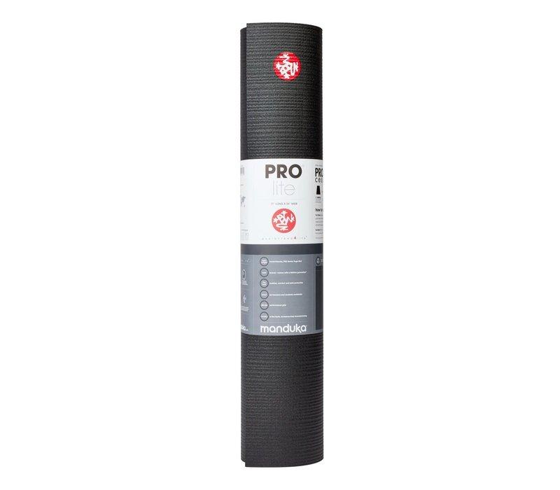 Manduka Prolite Yoga Mat 180cm 61cm 4.7mm - Black