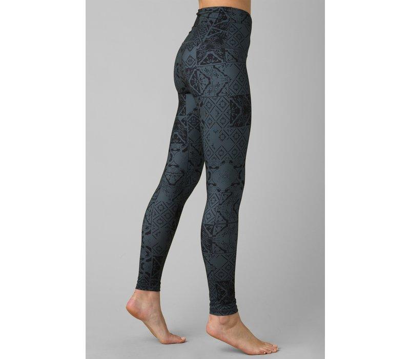 PrAna Kimble Printed 7/8 Legging - Chalkboard Tiles