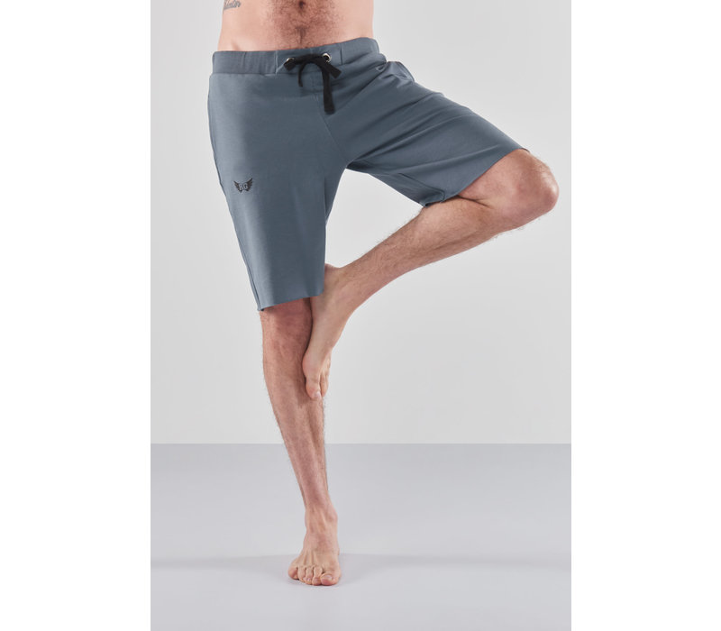 Renegade Guru Bodhi Yoga Shorts - Green Earth