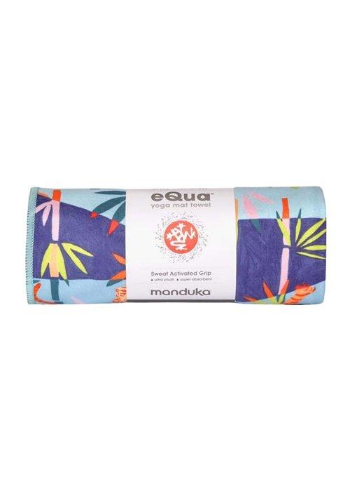 Manduka Manduka eQua Towel 182cm 67cm - Bengal Light Blue Hand Dye