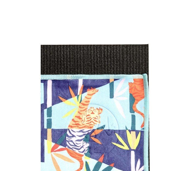 Manduka eQua Towel 182cm 67cm - Bengal Light Blue Hand Dye
