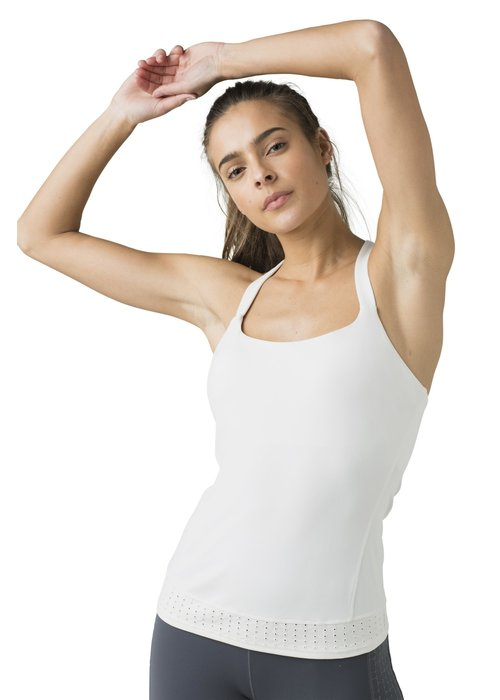 PrAna PrAna Faro Support Top - Soft White