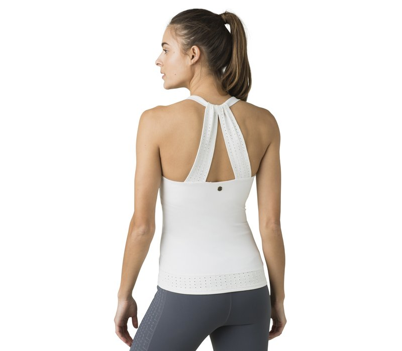 PrAna Faro Support Top - Soft White