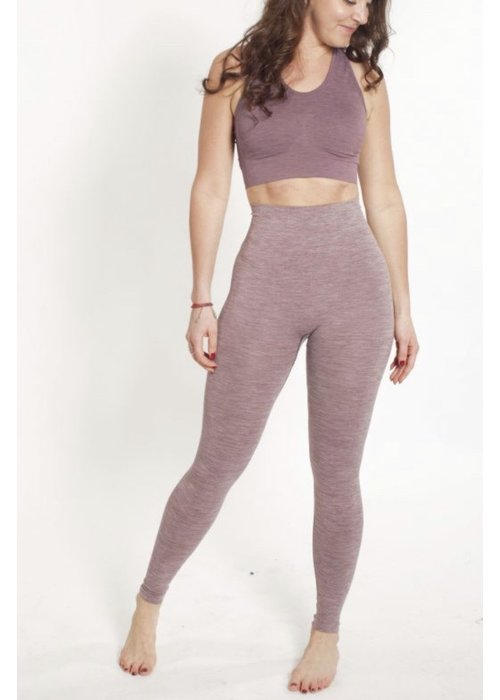 Tame The Bull Tame The Bull Slim Fit lll Leggings - Aubergine