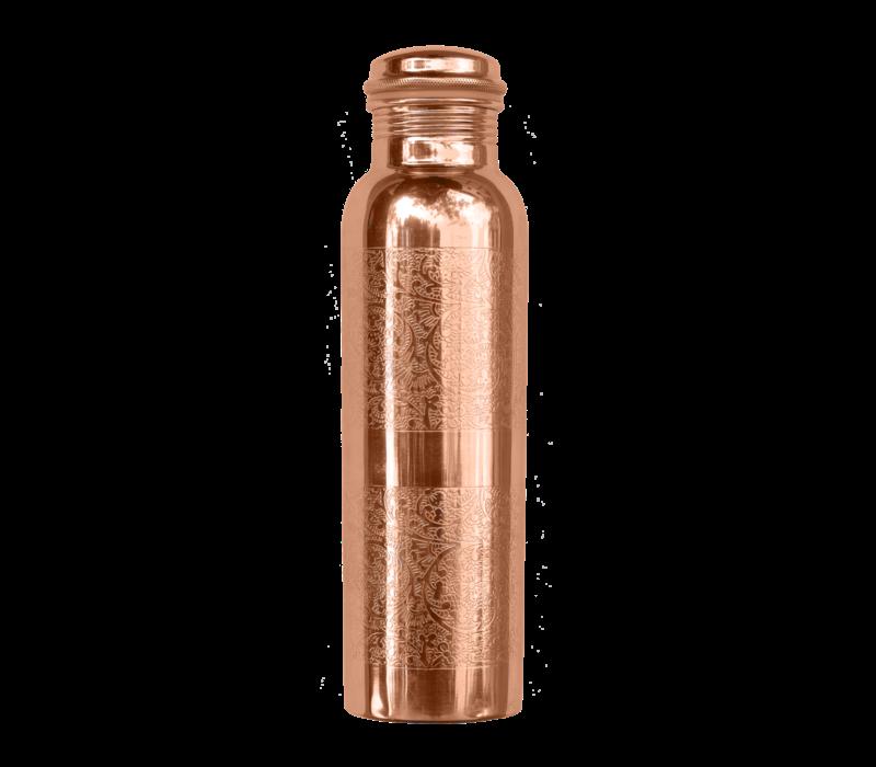 Forrest & Love Koperen Drinkfles 900ml - Engraved