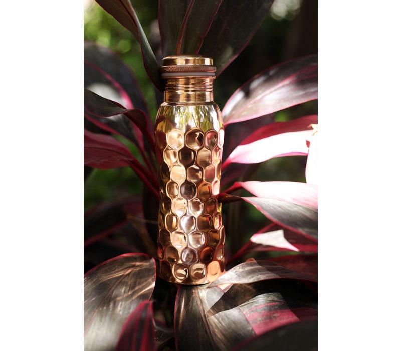 Forrest & Love Kupfer Trinkflasche 600ml - Diamant