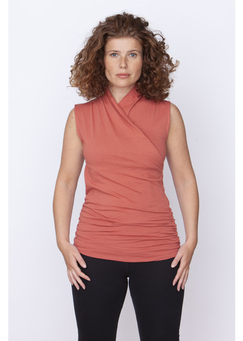 Urban Goddess Urban Goddess Good Karma Yoga Top -  Indian Desert